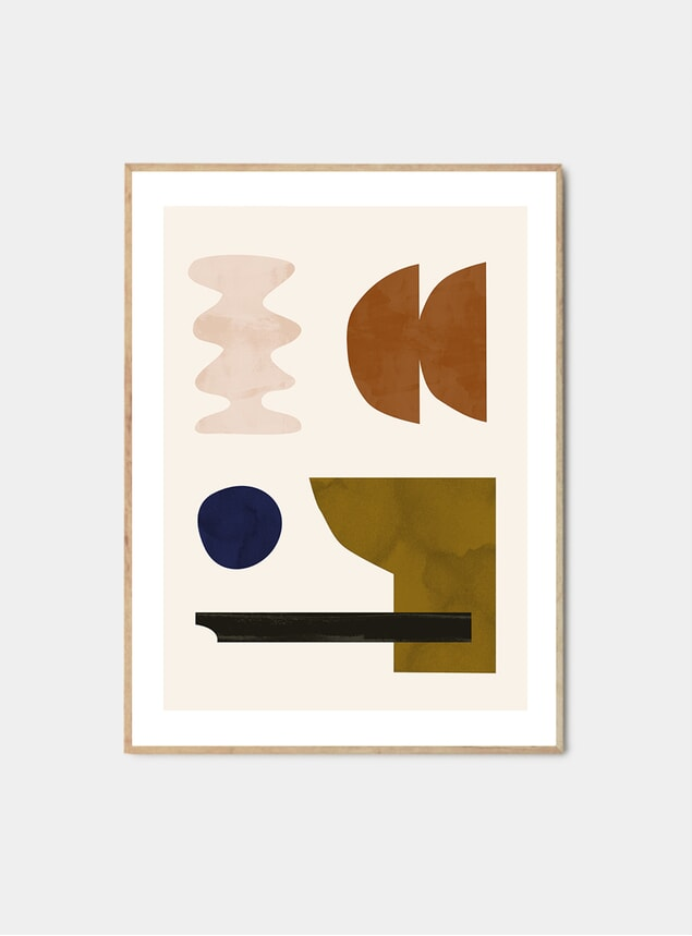 Shapescape 09 Print by Jan Skacelik