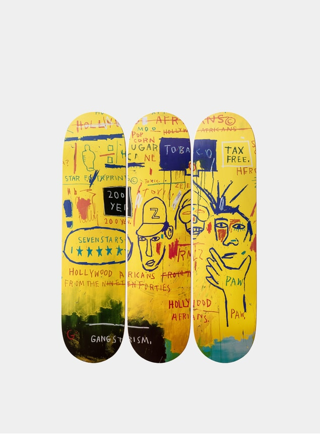 Jean-Michel Basquiat's Hollywood Africans, 1983 Triptych