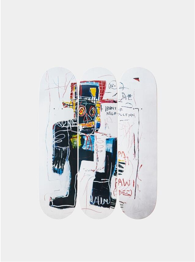 Jean-Michel Basquiat's Irony of a Negro Policeman Triptych