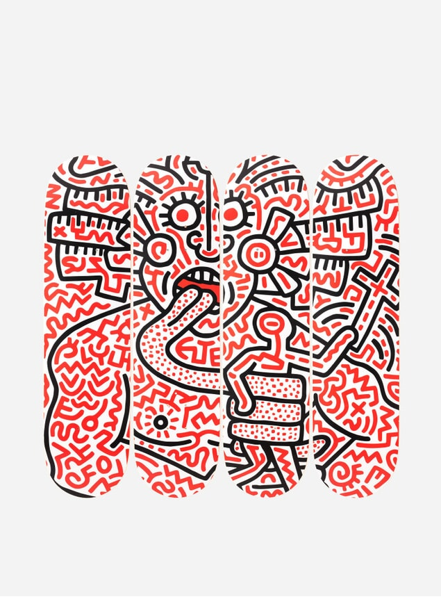 Keith Haring's Man and Medusa