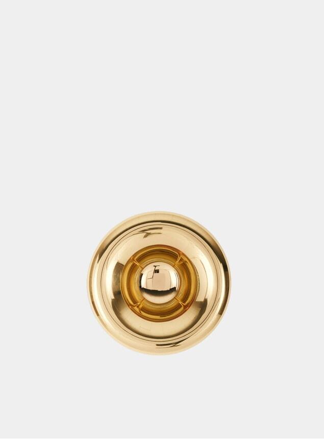 Brass Void Surface Light