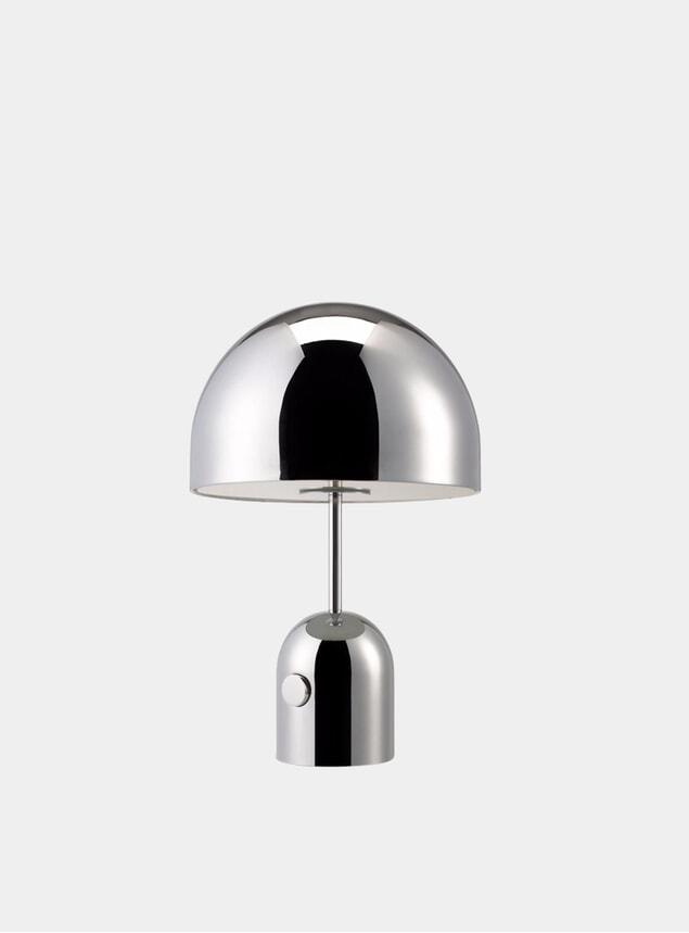 Chrome Bell Table Light