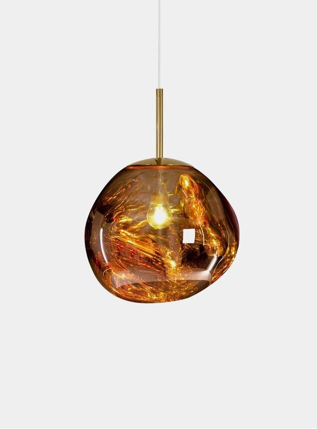 Gold Mini Melt Pendant Light