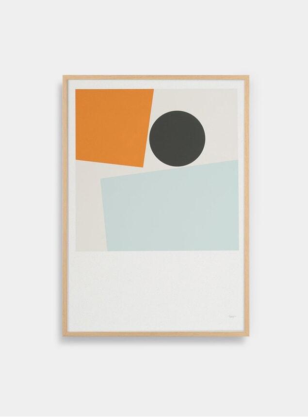Block and Ball 2 Print