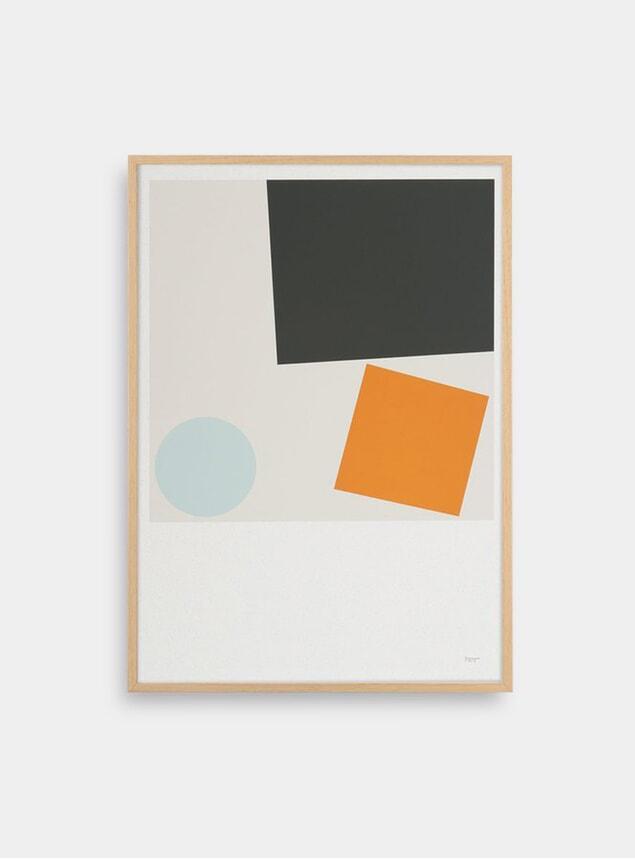 Block and Ball 3 Print