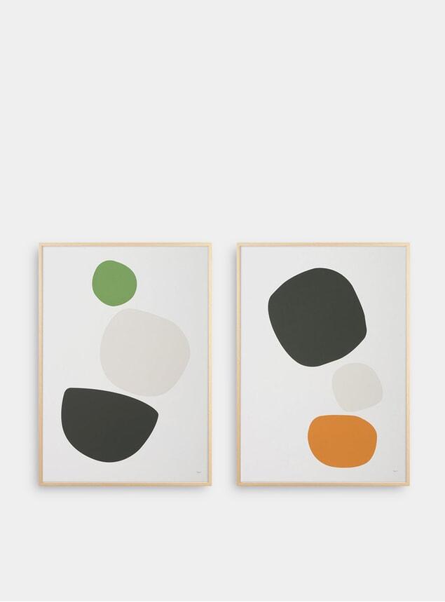 Cobble Pair of Prints