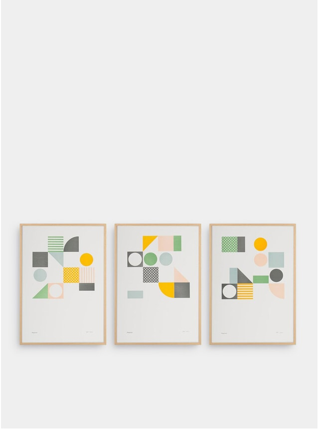 Playground Set of 3 Prints