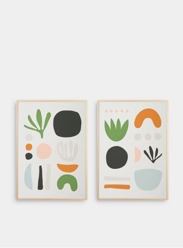 Seaweed Pair of Prints