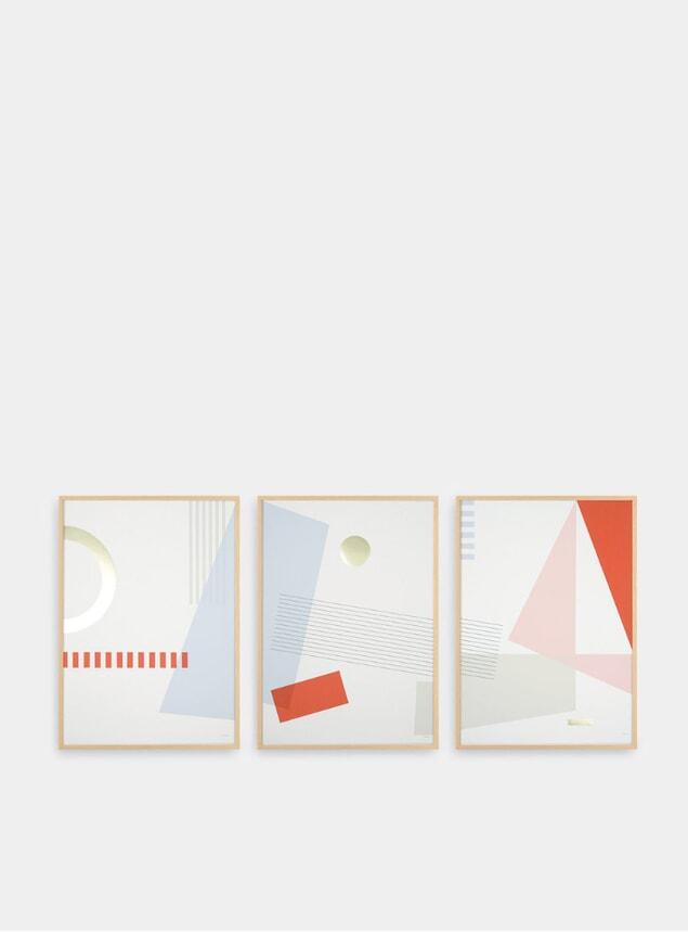 Entrance Set of 3 Prints