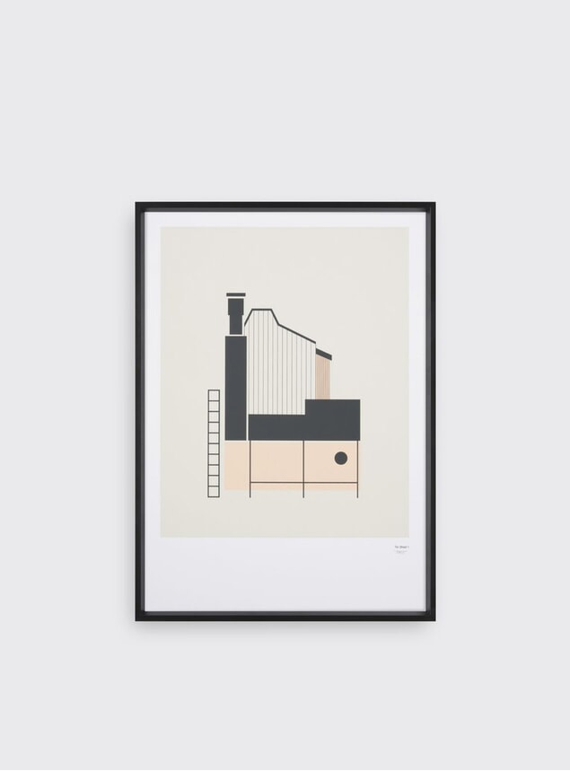 Tin Shed Print 1