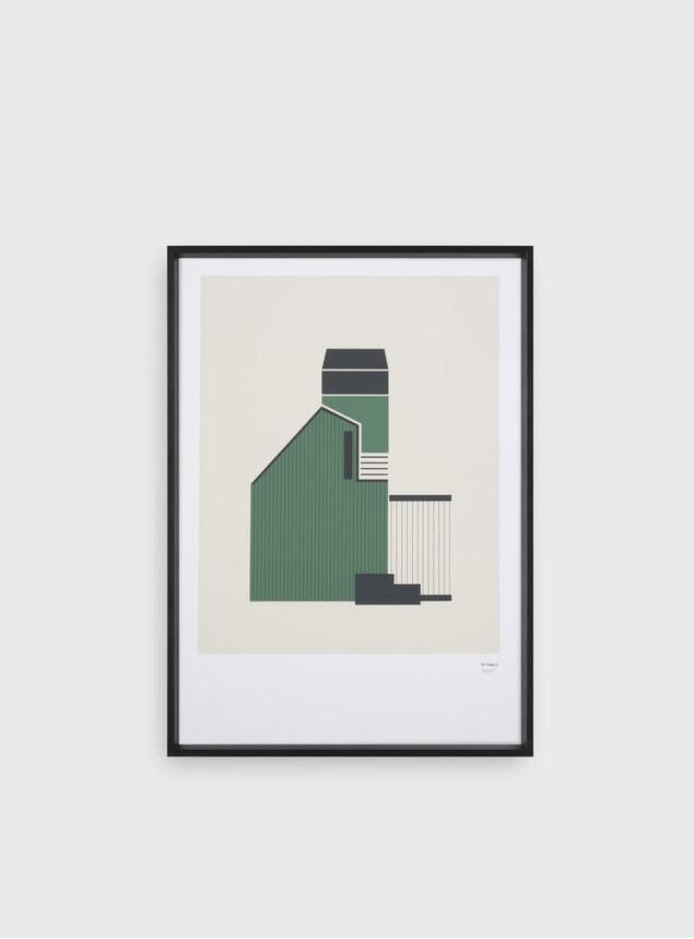 Tin Shed Print 3