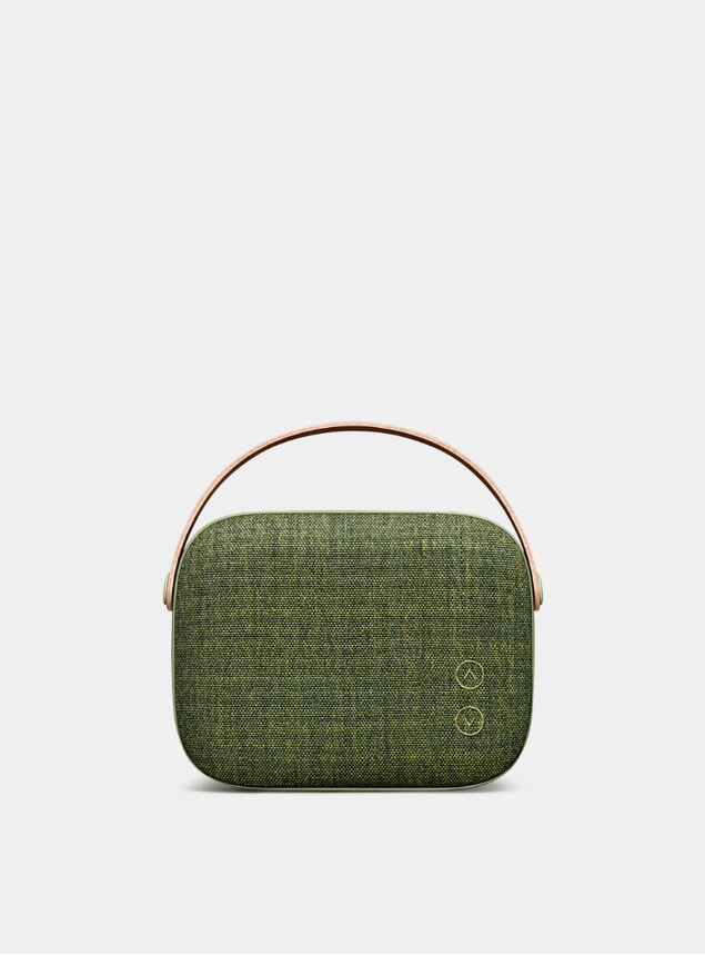 Willow Green Helsinki Bluetooth Loudspeaker