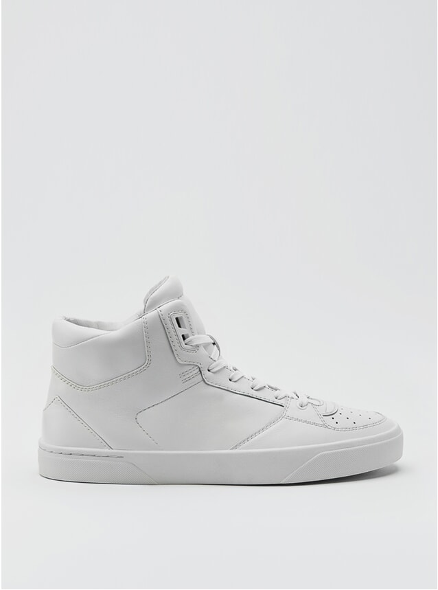 2B Reinweiss Sneakers