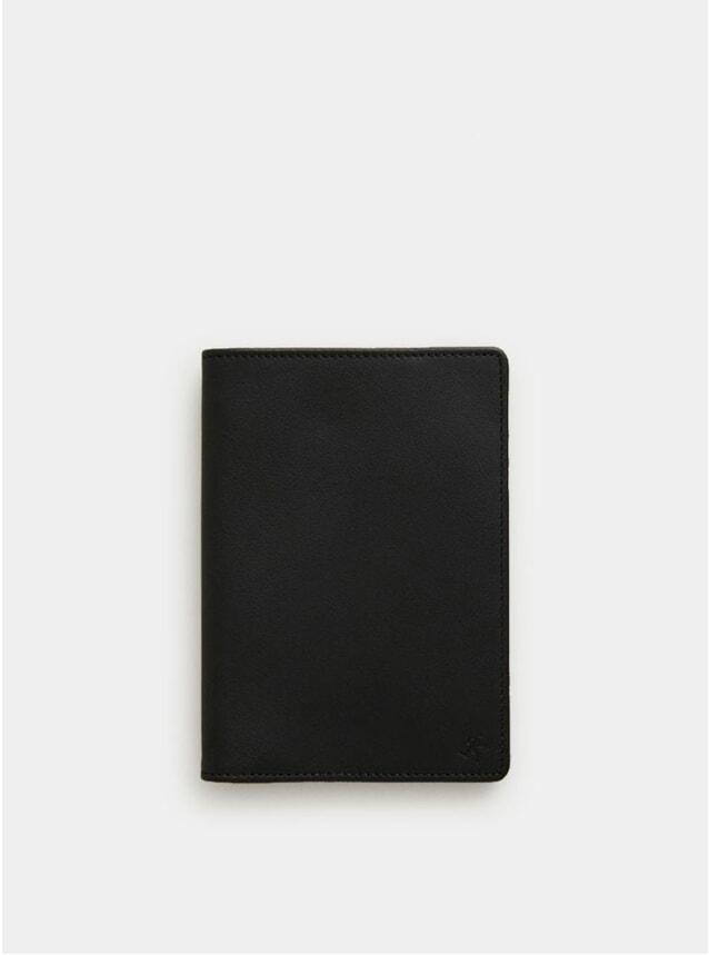 Black / Cognac Pearson Passport Cover