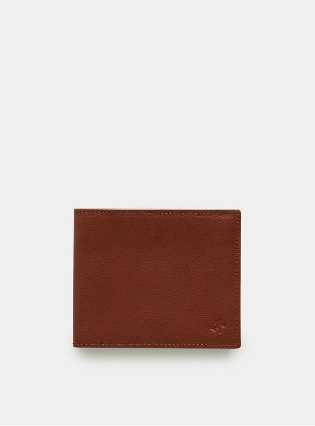 Sequoia Caviar / Cognac Bennin Bi-Fold Wallet