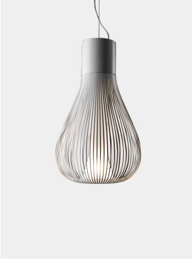 White Chasen Pendant Light